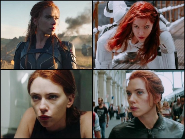 Black Widow Natasha Romanoff From Marvel S Black Widow