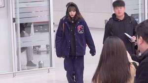 Blackpink at Haneda airport Japan heading to Korea