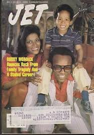 Bobby Womack And His Family On The Cover Of Jet