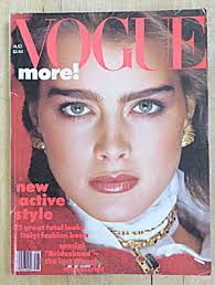 Brooke Shields On The Cover Of Vogue