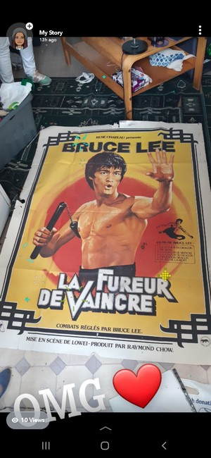 Bruce Lee Rare Collectable Poster