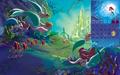 Calendar Ariel alt2 - disney-princess wallpaper
