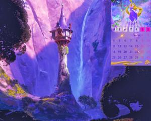 Calendar Rapunzel