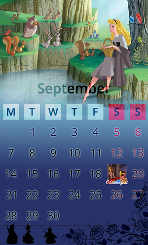 Calendar September Aurora