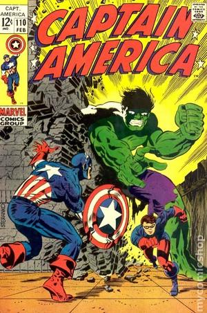 Captain America (1968) no 110