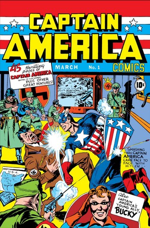 Captain America Comics (1941) no. 1