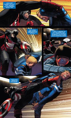 "Captain America number 16 - ""The Legend of Steve IV"" (2019)"