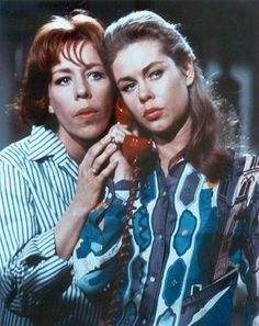 Carol Burnett and Liz