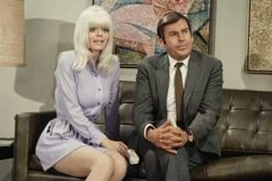 Carol Wayne and Paul Lynde