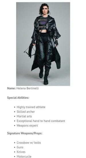 Character Bio ~ Helena Bertinelli