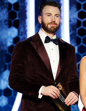 Chris Evans - 77th Golden Globes - Red Carpet - January 6, 2020