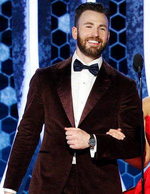 Chris Evans - 77th Golden Globes - Red Carpet - January 6, 2020