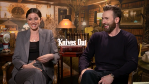 Chris Evans and Ana De Armas interview for Knives Out