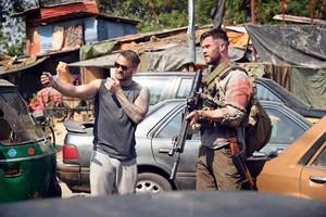 Chris in the Netflix drama,Dhaka
