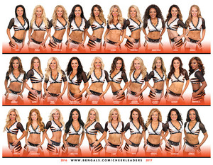 Cincinnati Bengals Cheerleaders - The 2016-2017 NFL Season