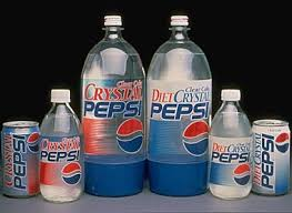 Clear Pepsi