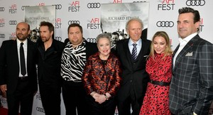 "Clint Eastwood and his stars at the premiere of ""Richard Jewell"" at AFI FEST November 20, 2019"