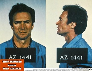 Clint in Escape from Alcatraz