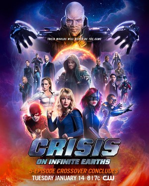 Crisis On Infinite Earths - Promo Poster