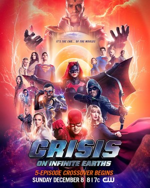 Crisis on Infinite Earths Crossover Event Poster