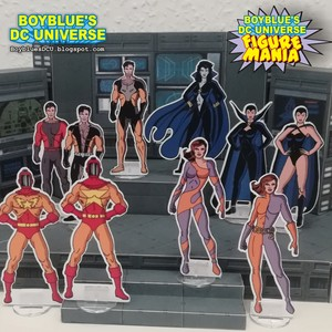 DC Comics Cardboard Figures