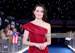 Daisy Ridley - premiere of Star Wars: The Rise Of Skywalker - December 16, 2019