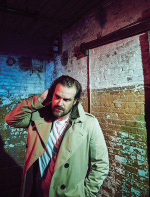 David Harbour - Schon Photoshoot - 2018