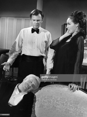 David White --- Dick Sargent --- Julie Newmar