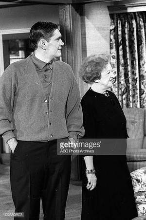 Dick York and Marion Lorne
