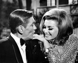 Dick York and Nancy kovack=