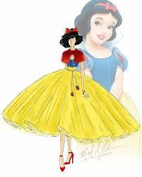 迪士尼 Fashion Sketch 设计