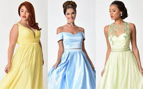 डिज़्नी Inspired Prom Dresses