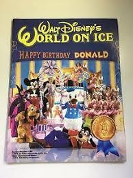 Disney World On Ice Tour Program