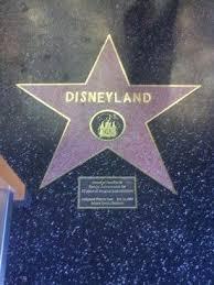 Disneyland bintang Walk Of Fame