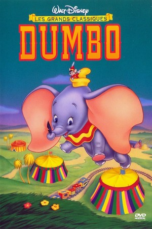 Dumbo (1941) French DVD Cover
