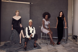 Elizabeth Debicki, Cynthia Erivo, Viola Davis and Michelle Rodriguez - Widows Photoshoot - 2018
