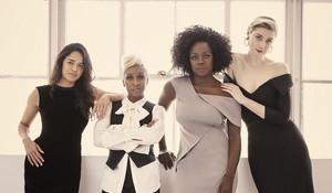 Elizabeth Debicki, Cynthia Erivo, Viola Davis and Michelle Rodriguez - Widows Photoshoot - 2018