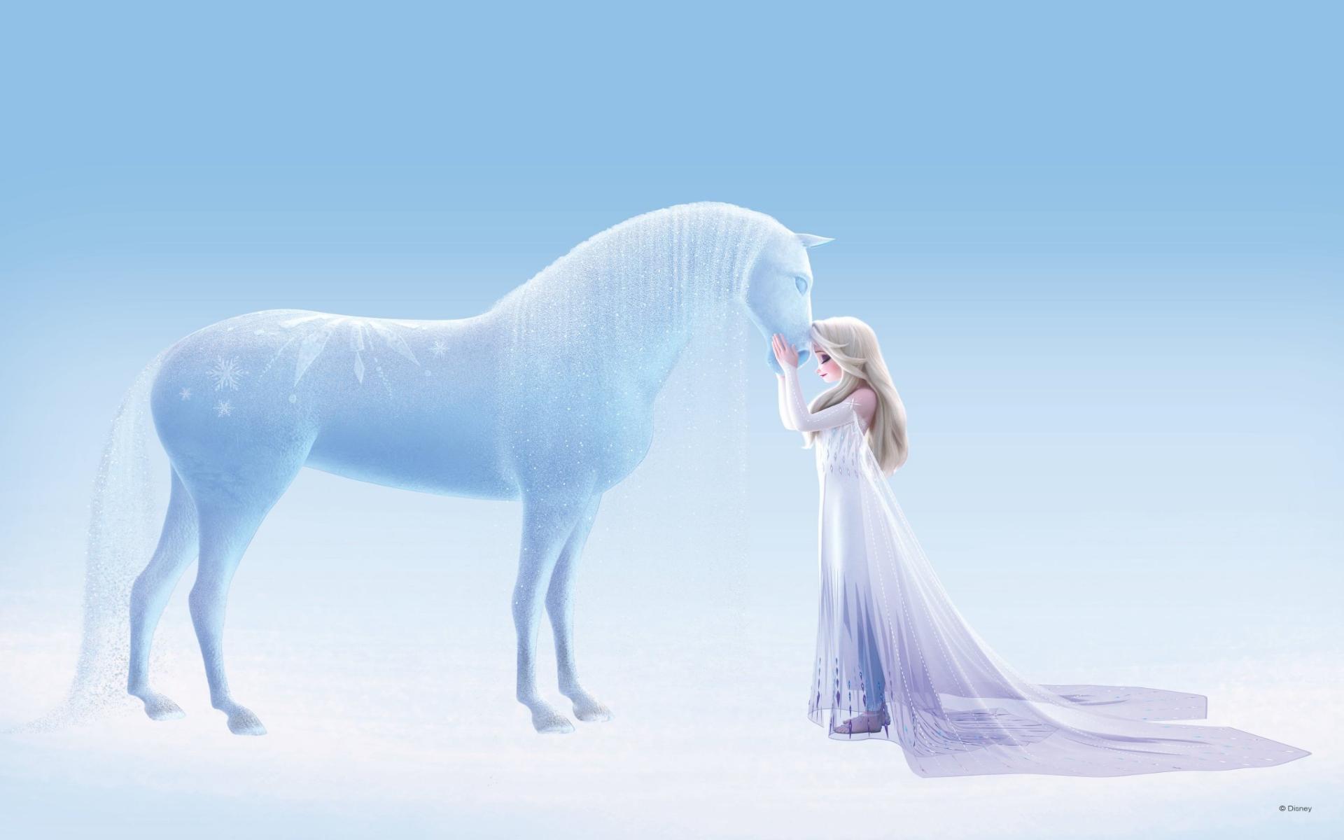 Elsa and Nokk Wallpaper