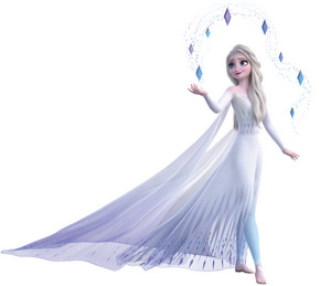 Elsa as the Fifth Spirit