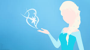 Elsa minimalist wallpaper (2)