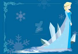 Elsa minimalist wallpaper
