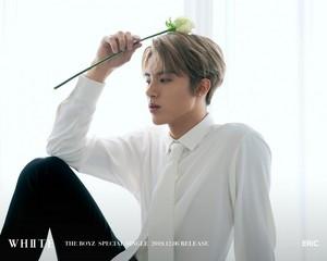 Eric teaser afbeeldingen for special single 'White'