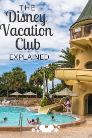 Explanation Of The Disney Vacation Club