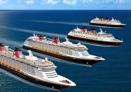 Fleet Of Disney Cruise Ships