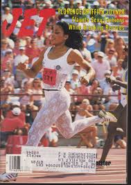 Florence Griffith-Joyner On The Cover Of Jet
