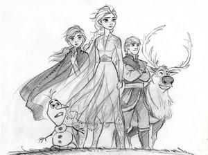 《冰雪奇缘》 2 Concept Art