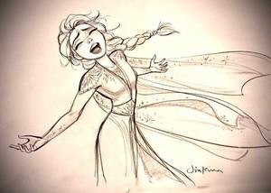 アナと雪の女王 2 Concept Art - Elsa