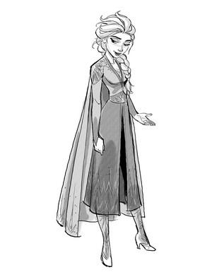 nagyelo 2 Concept Art - Elsa