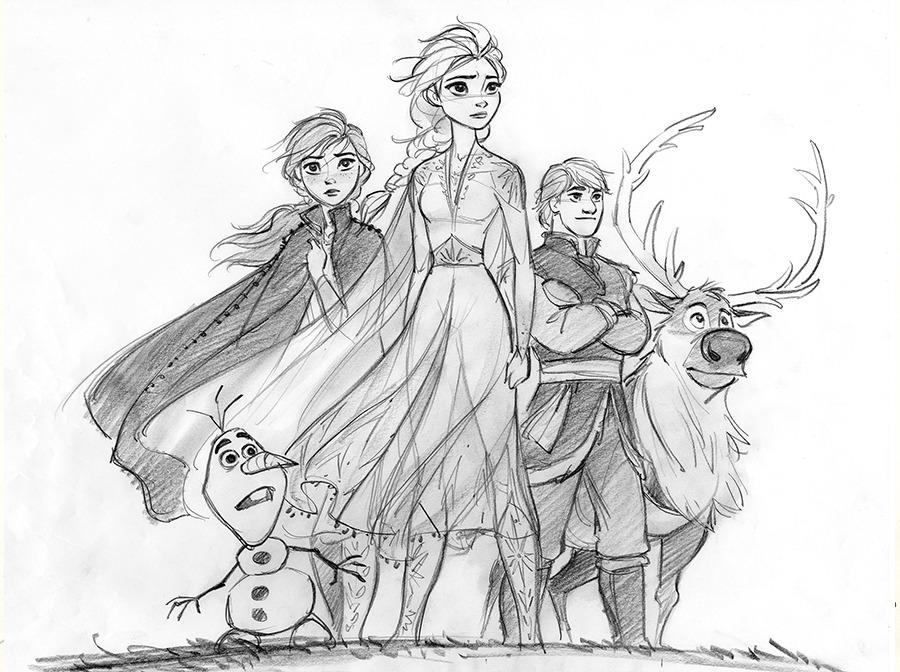 Frozen 2 Concept Art