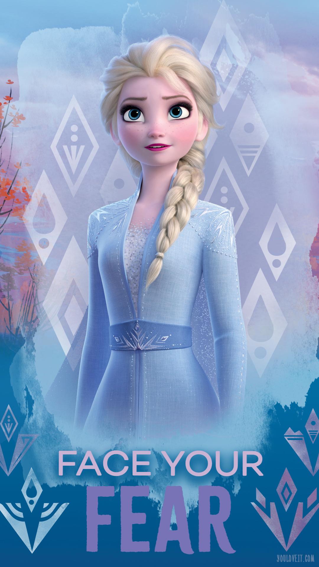 Frozen 2 Elsa Phone Wallpaper Frozen 2 Photo 43115909